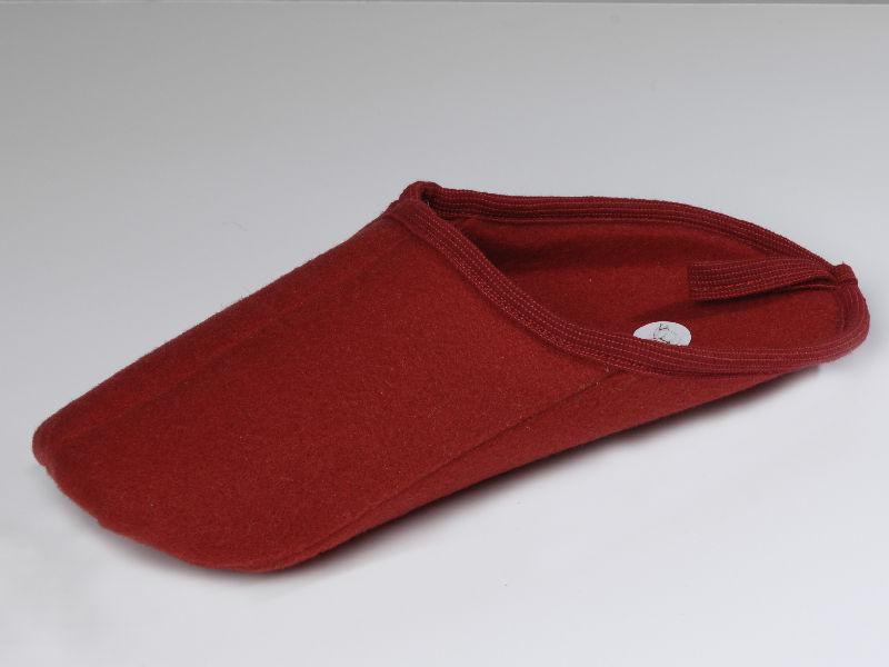 ueberpantoffel leicht rot
